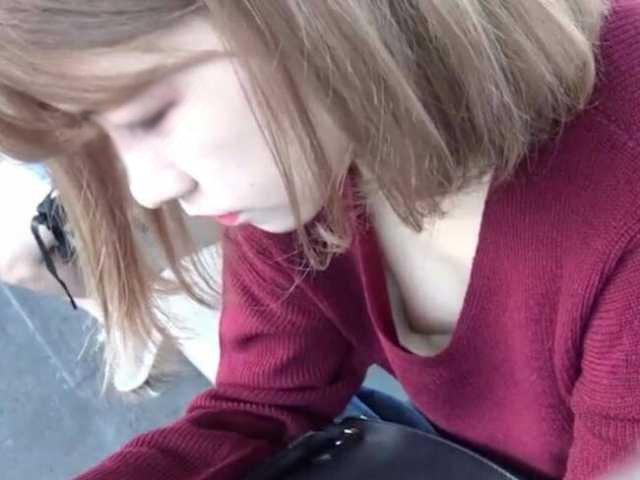 乳首チラしてる素人女子 (10)