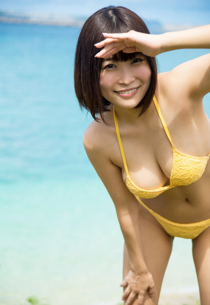 美少女グラドルの豪快SEX、河合あすな (2)