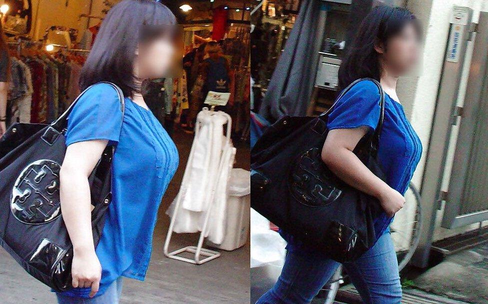 子連れや人妻の着衣巨乳 (11)