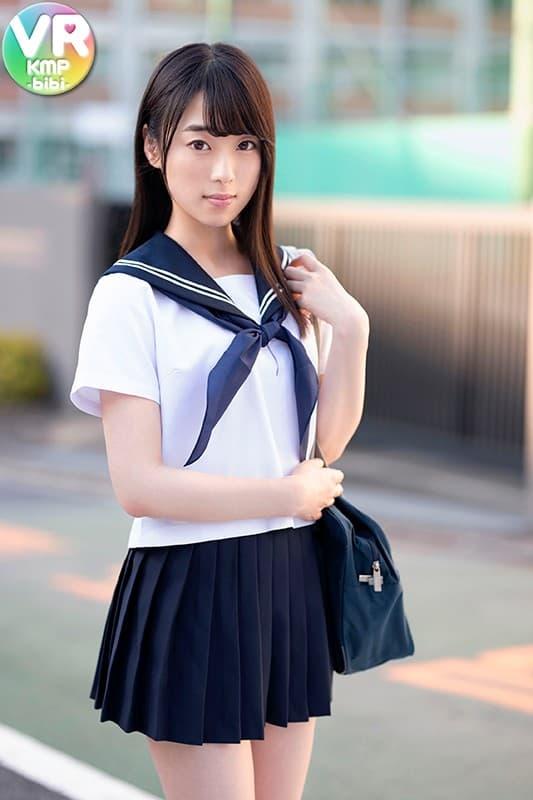 色白美少女の処女喪失SEX、本田さとみ (17)