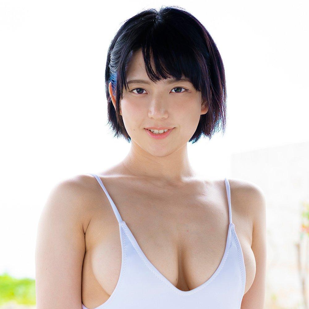 【柏木あみ】Fカップ美巨乳のグラドルが大好きなデカチンで中出しセックス