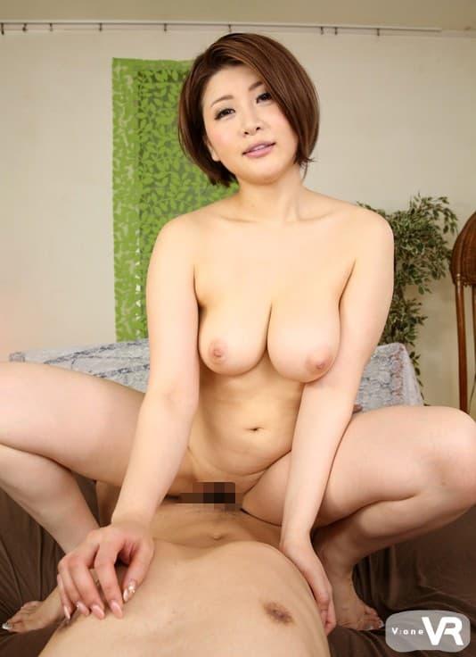 巨乳熟女の挑発SEX、推川ゆうり (19)