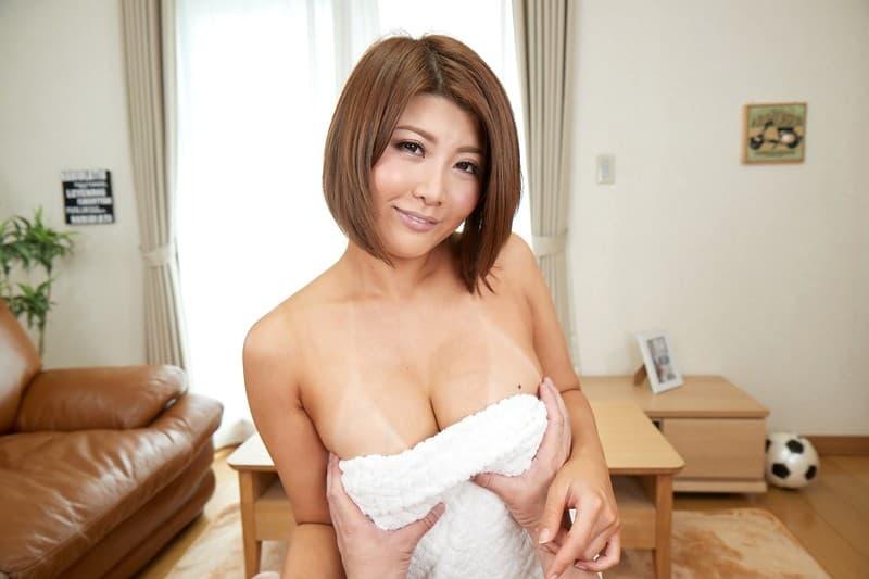 巨乳熟女の挑発SEX、推川ゆうり (12)