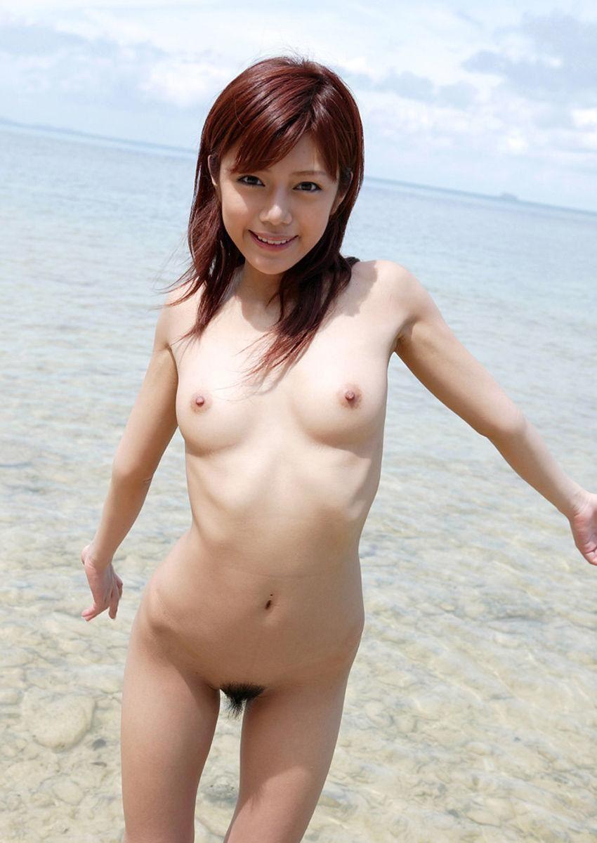 スレンダー貧乳のヌード美少女 (20)