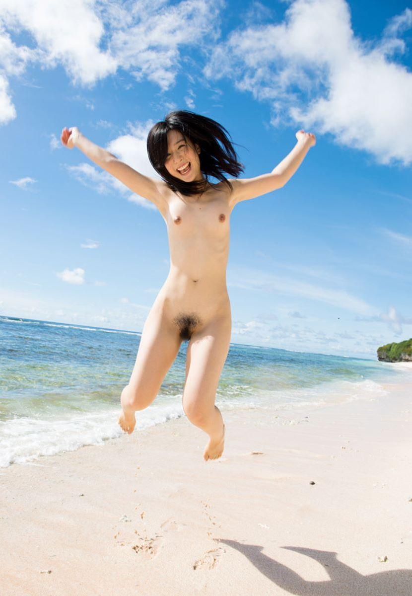 スレンダー貧乳のヌード美少女 (4)