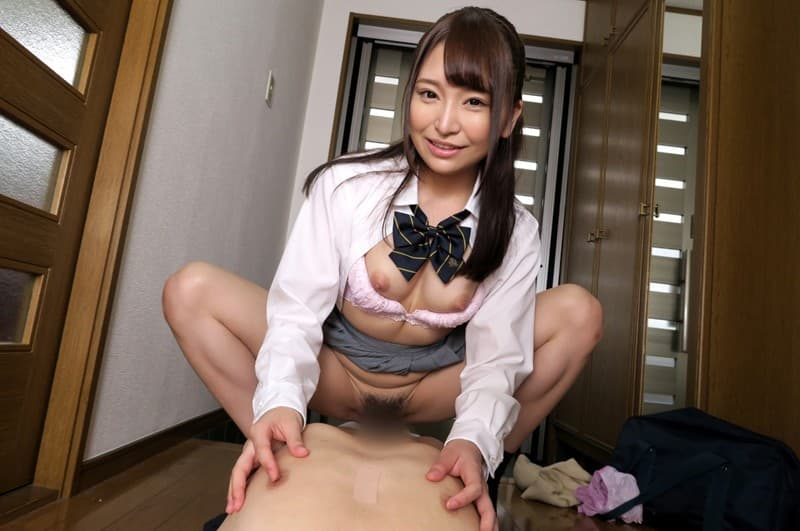 小悪魔美少女の誘惑SEX、加藤ももか (6)