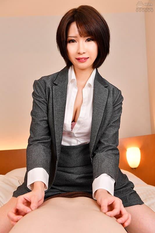 ミニマム巨乳の美女が豪快SEX、来まえび (15)
