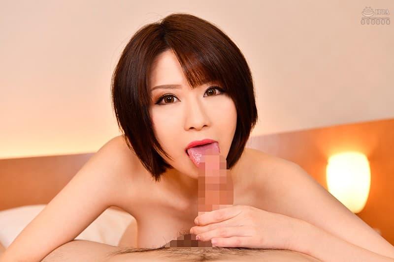 ミニマム巨乳の美女が豪快SEX、来まえび (17)
