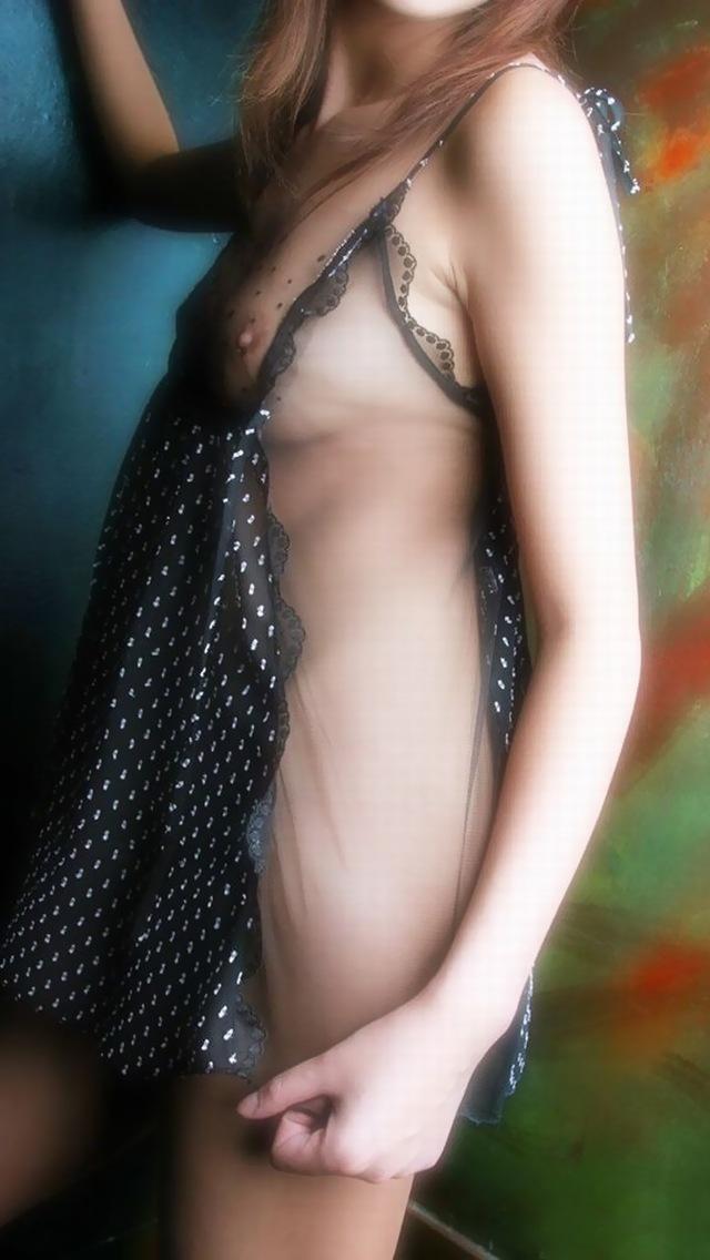セクシーな下着姿の女性 (12)