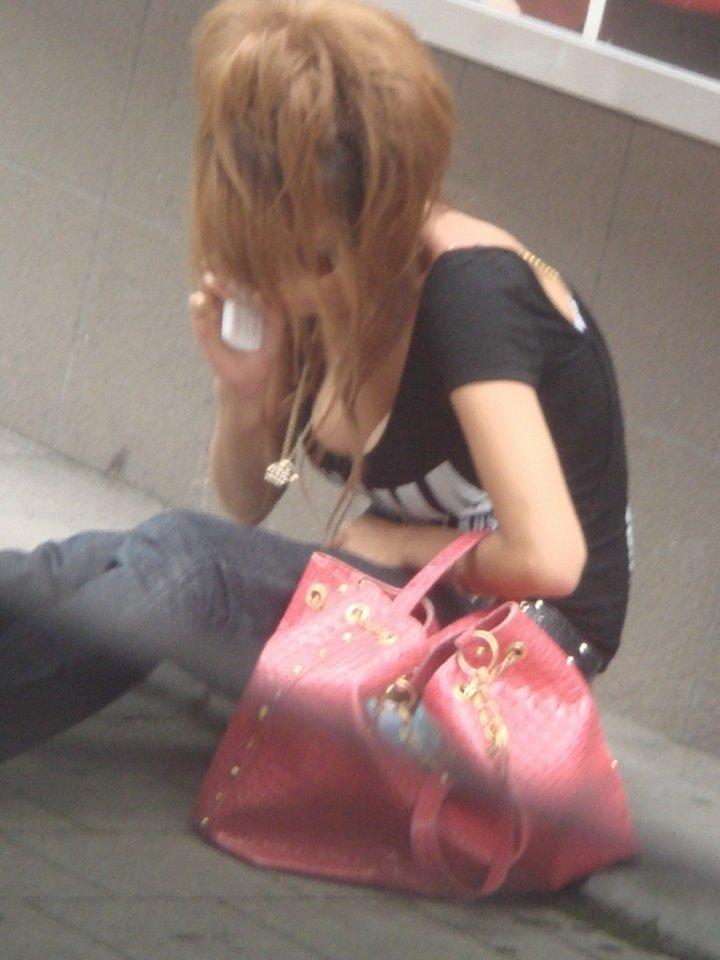 街で見つけた着衣巨乳 (9)