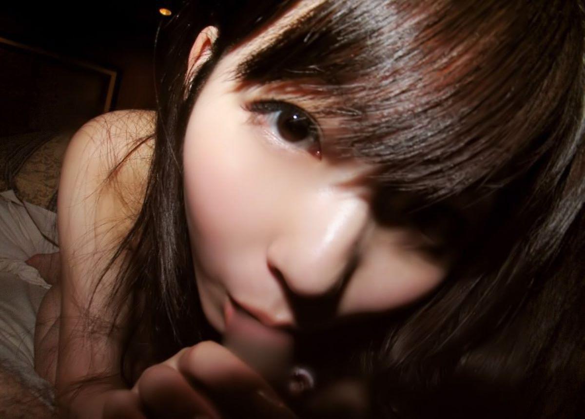 童顔美少女のフェラチオ (12)