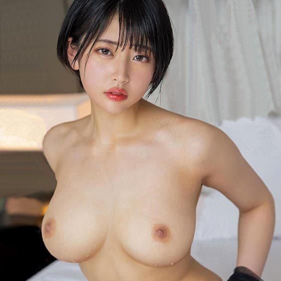 ショートヘアの美女が本番SEX、夏目響 (1)